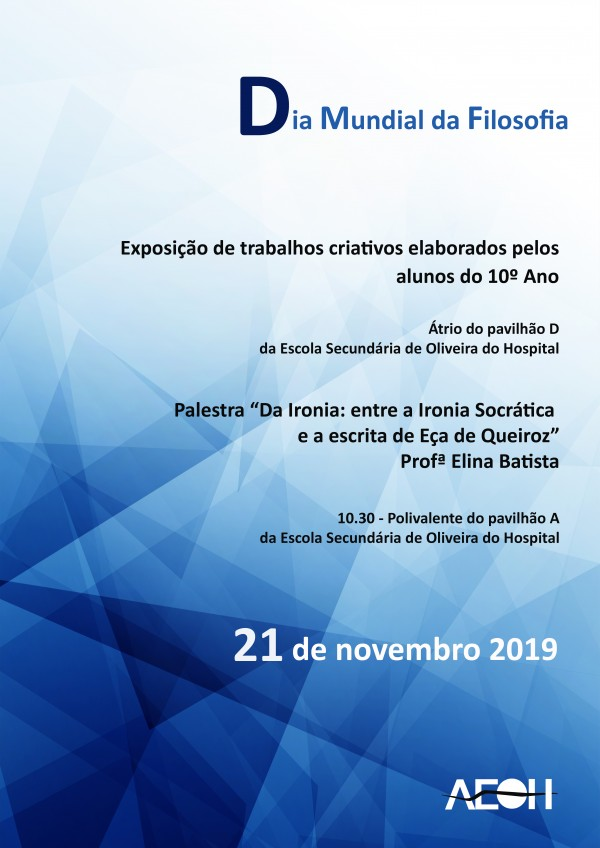 Dia Mundial da Filosofia, dia 21 de novembro