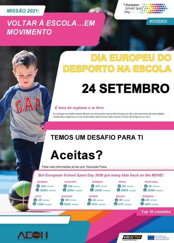 Dia Europeu do Desporto na Escola