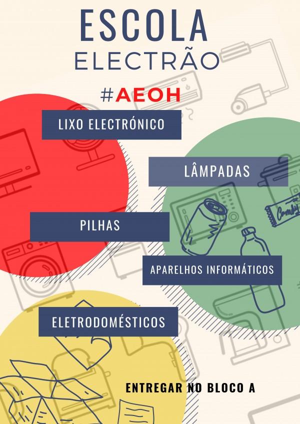 Escola electrão AEOH